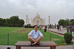 The Taj Mahal and Me-Agra, India